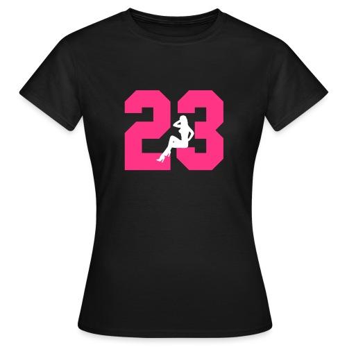 Sexy Dreiungzwanzig / 23 - Frauen T-Shirt
