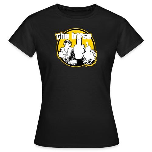theboese logo gelb - Frauen T-Shirt
