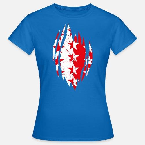 WALLISER WAPPEN RIP - Frauen T-Shirt