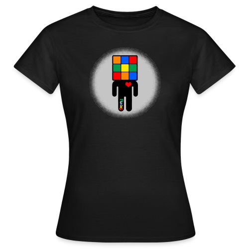 Rubik's Cube Manicon - T-shirt dam
