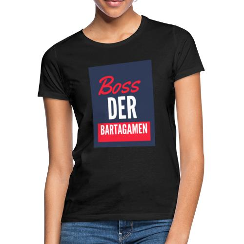 Boss der Bartagamen LOGO - Frauen T-Shirt