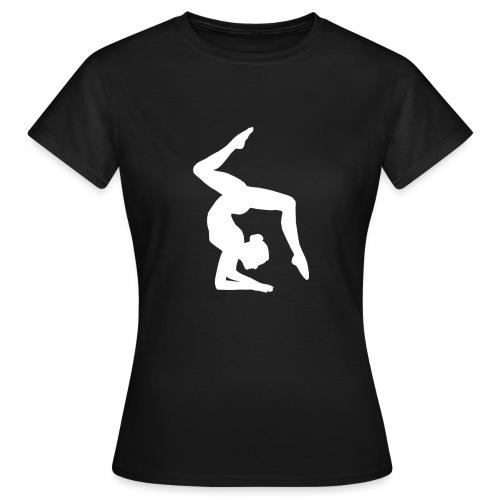 Acrogym-Single001White - Vrouwen T-shirt