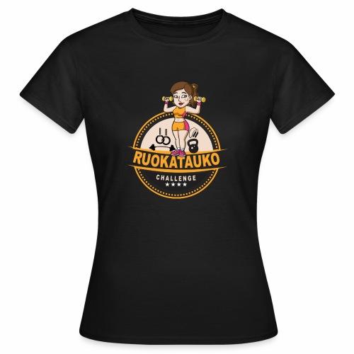Ruokatauon virallinen challengetyttö - Naisten t-paita