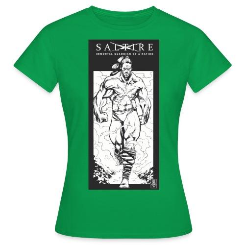 Saltire Scottish Superhero Logo - Women's T-Shirt