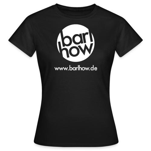 barlhow Logo weiß - Frauen T-Shirt