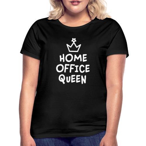 Home Office Geschenk Mitarbeiterin Kollegin - Frauen T-Shirt
