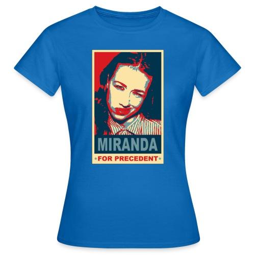 tshirt miranda for precedent - Women's T-Shirt