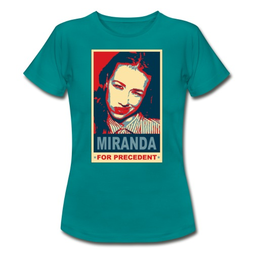 tshirt miranda for precedent - Women's T-Shirt