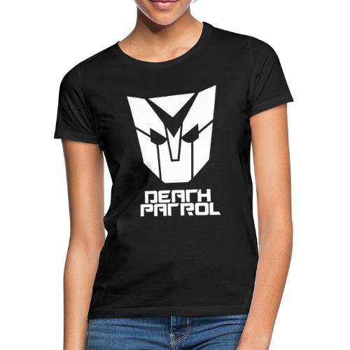 Death Patrol Mask + Logo - Frauen T-Shirt