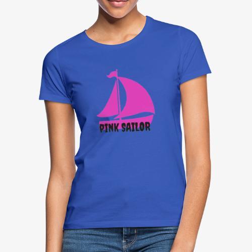 PINK SAILOR - T-shirt dam