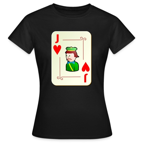 Jack Hearts png - Women's T-Shirt