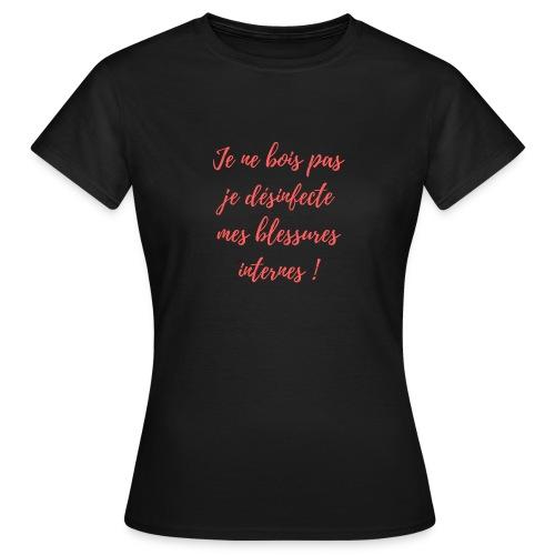 boire - T-shirt Femme