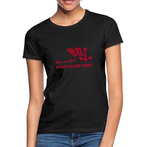 Krad-Vagabunden - Fernweh - V2 - Frauen T-Shirt
