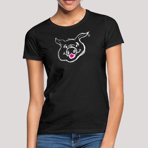 HAPPY PIGPIGGY White - Women's T-Shirt