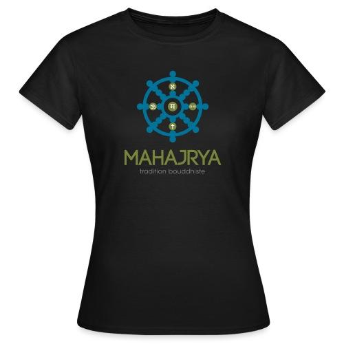 Mahajrya Logo FR - T-shirt Femme
