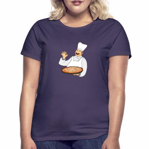 Pizza Bäcker - Frauen T-Shirt