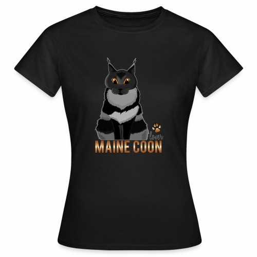 Maine Coon lover - T-shirt Femme