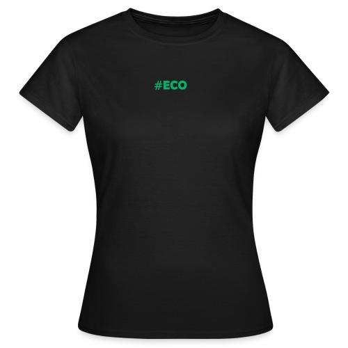 #ECO Blue-Green - Frauen T-Shirt