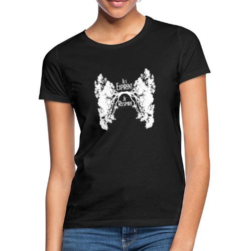 Oxygène blanc - T-shirt Femme