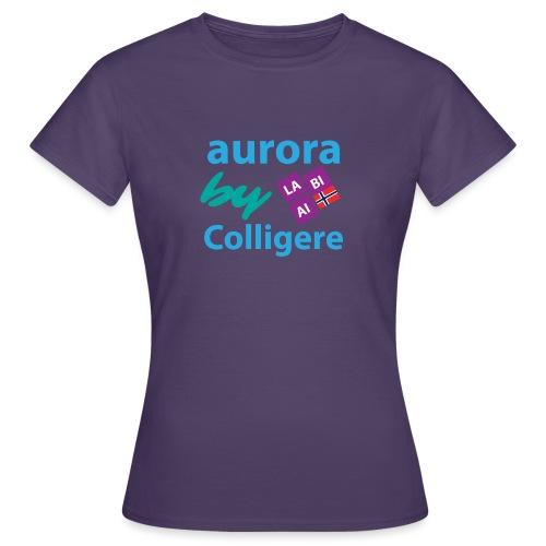 Aurora by Colligere - T-skjorte for kvinner