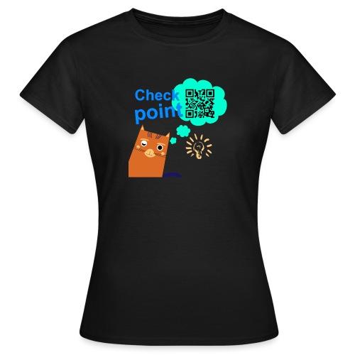 Duna Checkpoint - T-skjorte for kvinner