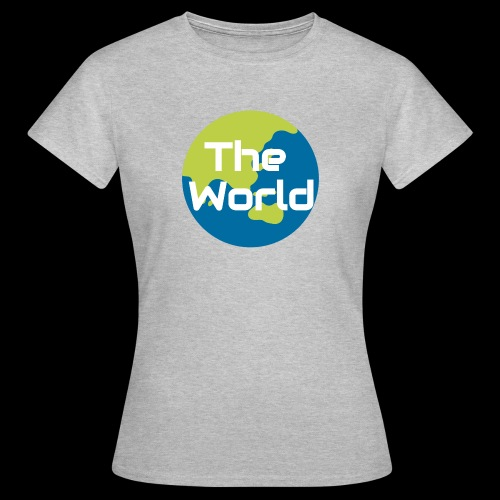 The World Earth - Dame-T-shirt