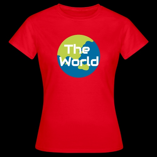The World Earth - Dame-T-shirt
