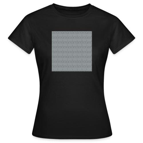 helsinki railway station pattern gray - Women's T-Shirt