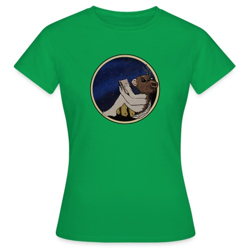 Marilyn's Diary (Round) - Women's T-Shirt