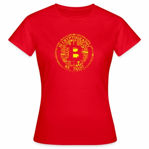 In cryptography we trust 2 - Women's T-Shirt