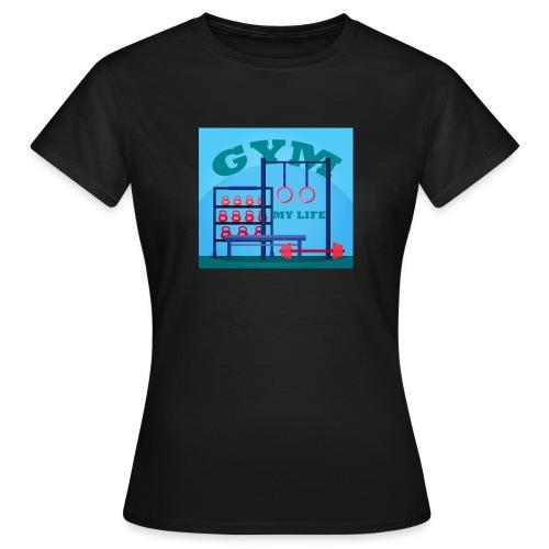 GYM - Naisten t-paita