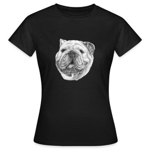 EngelskBulldog M - Dame-T-shirt