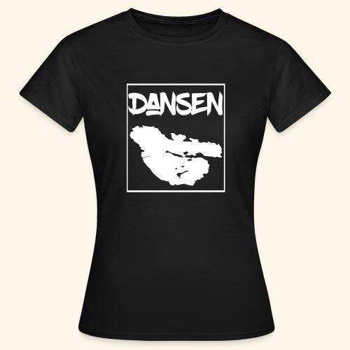 DansenKartaVit - T-shirt dam