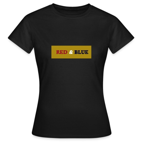 Red & Blue Limited Edition - T-shirt dam