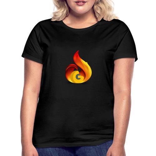 Crunch on Fire - Maglietta da donna