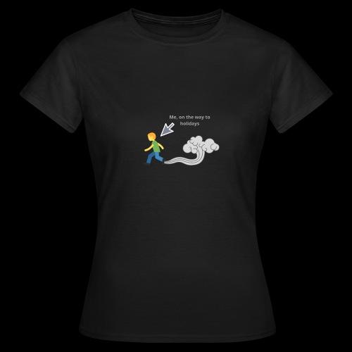 MeOnTheWayToHoliday - Frauen T-Shirt