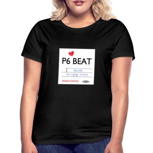 P6 Beat de rigtige 90 - Dame-T-shirt