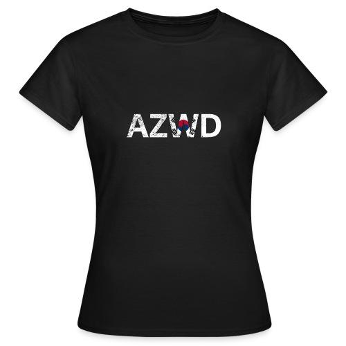 AZWD South Korea - T-shirt Femme