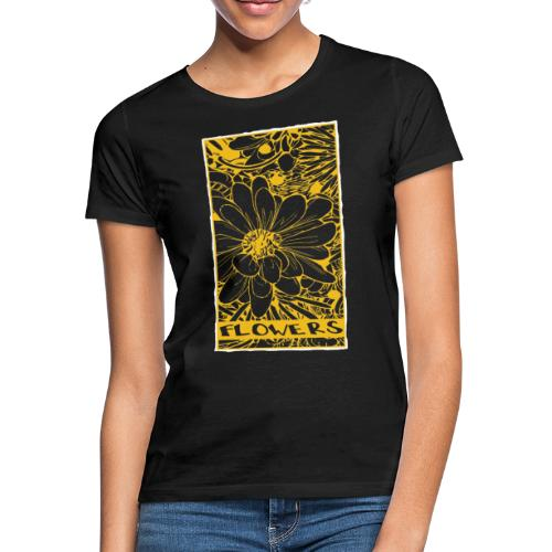 bloemen geel wit - Vrouwen T-shirt