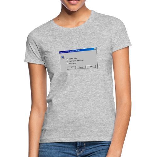 Dekadance im Nerd Retro Style! - Frauen T-Shirt