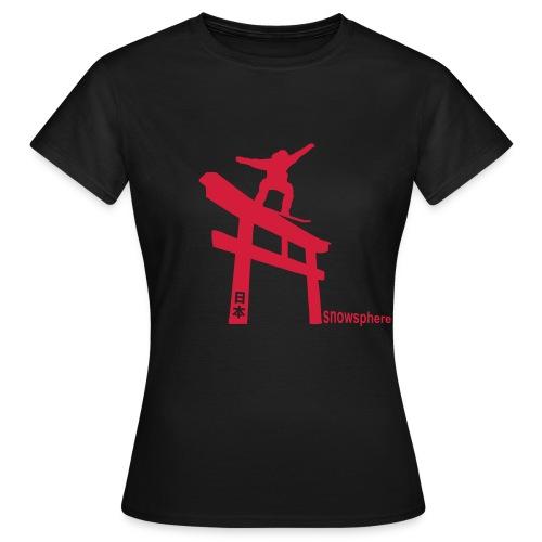 Snowboard Japan Torii Slide - Women's T-Shirt