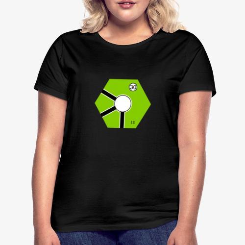 Tile Green - T-shirt dam