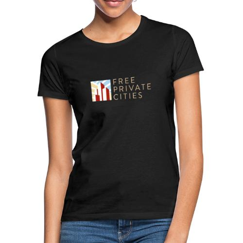 Free Private Cities Logo - Women's T-Shirt