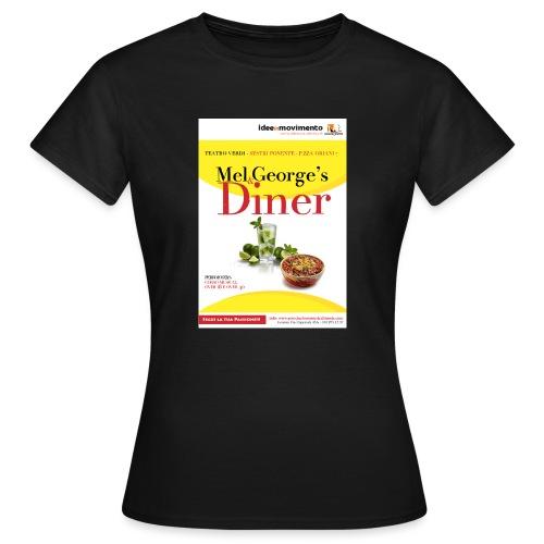 Mel-George-s_diner - Maglietta da donna