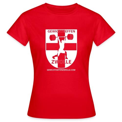 Bestsellers Gewichtheffen Zwolle - Vrouwen T-shirt
