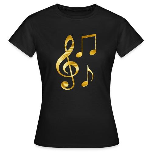 Music Notes - Frauen T-Shirt