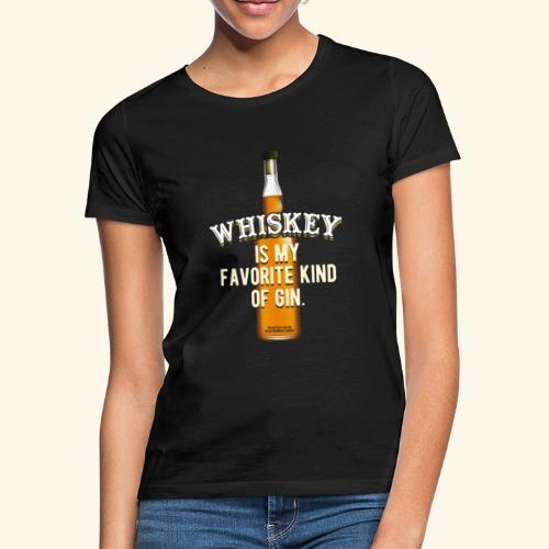 Whiskey Sprüche Für Clevere Leute - Frauen T-Shirt
