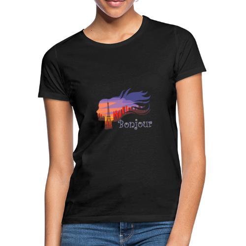 Bonjour Paris - Frauen T-Shirt