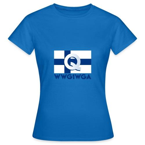 Suomi WWG1WGA - Naisten t-paita