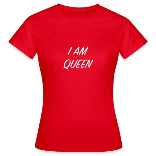 Queen blanc - T-shirt Femme